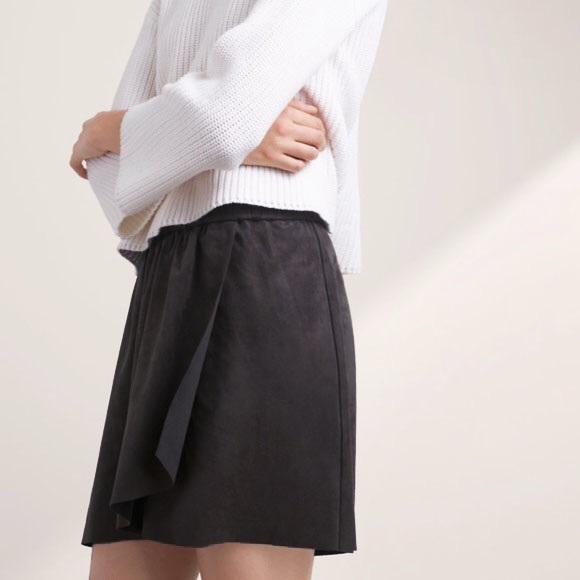 48566cfe1c Aritzia Skirts   Wilfred Free Nescher Suede Skirt S   Poshmark